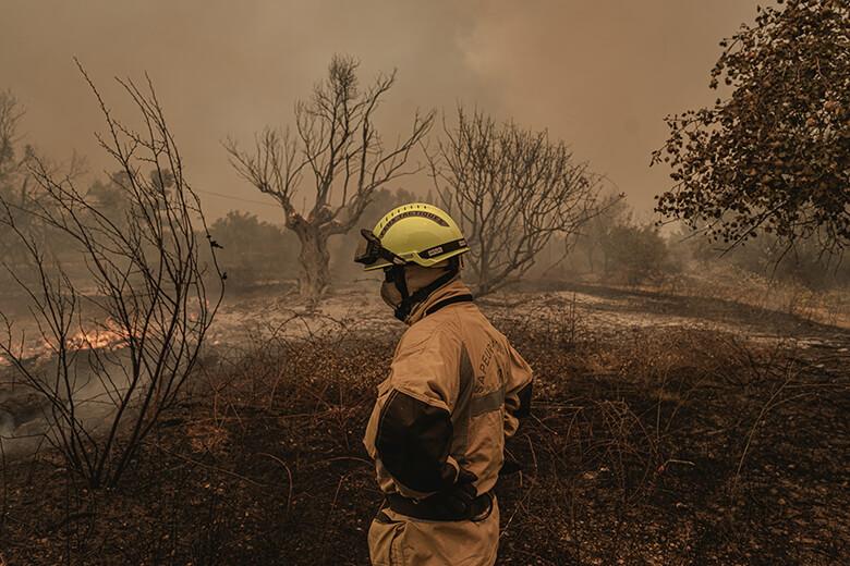 ギリシャ火災