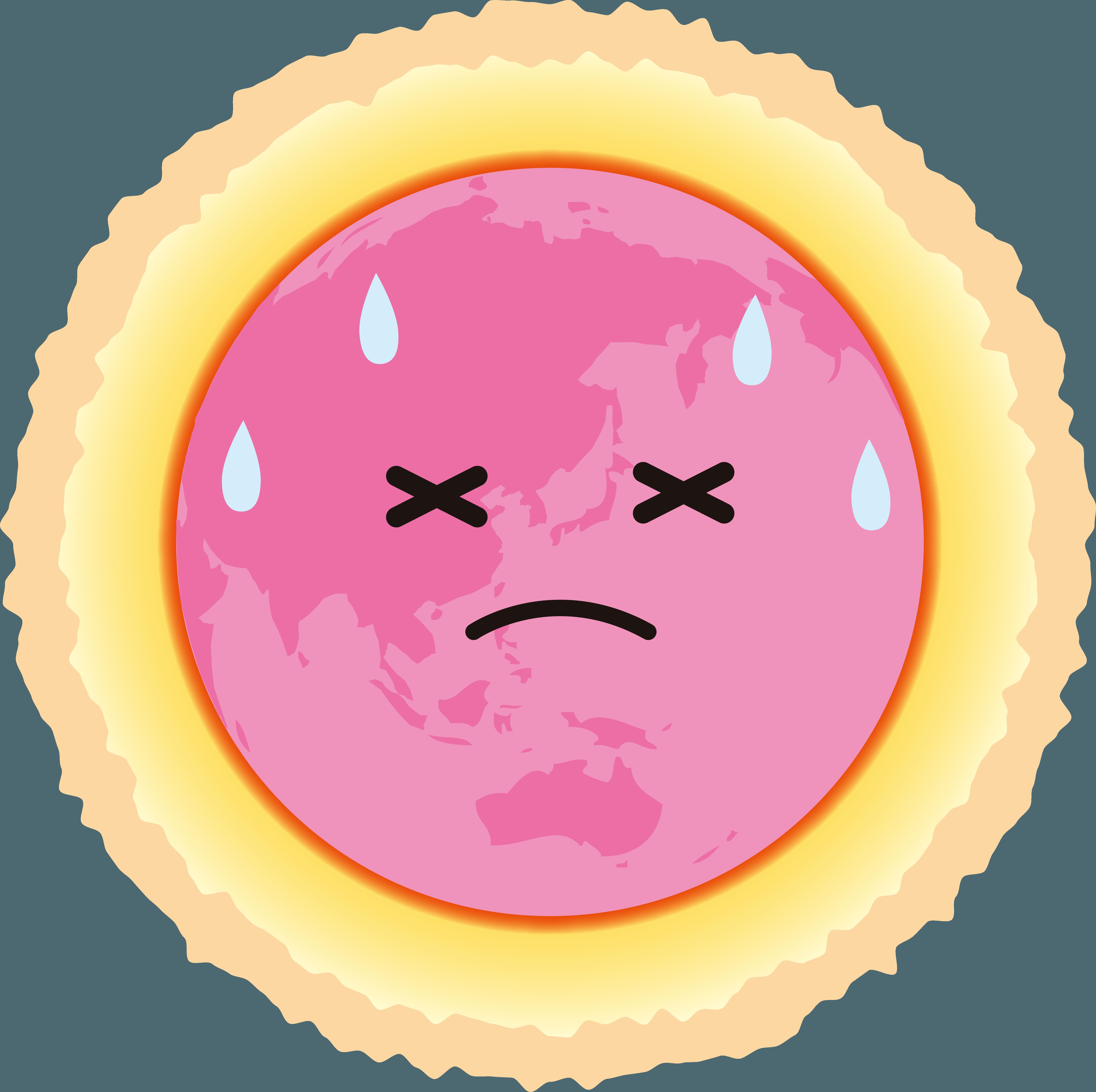 地球温暖化が促進